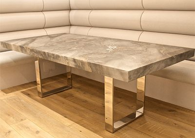 Bespoke Designs - Contemporary Marble Dining Table