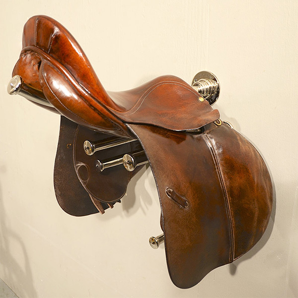 Equestrian - Wall Mounted Saddle Rack