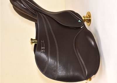 Equestrian - Wall Mounted Saddle Rack Set, Featuring Bliss of London Saddle