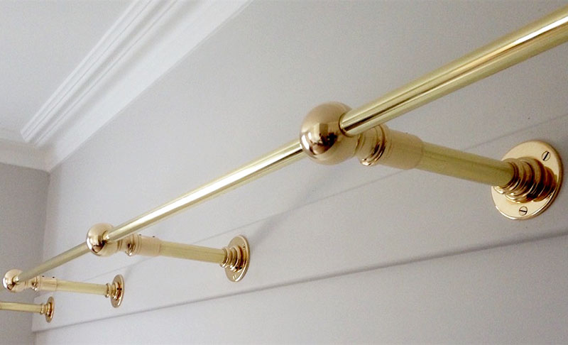 Bespoke Wall Mount Clothes Rails