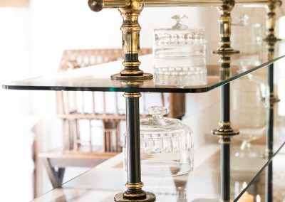 Bespoke Designs - Rails, Glass and Tables