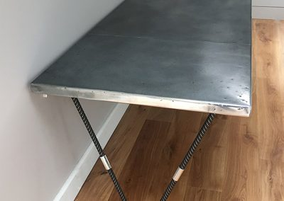 Bespoke Designs - Hand Made Zinc Topped Desk