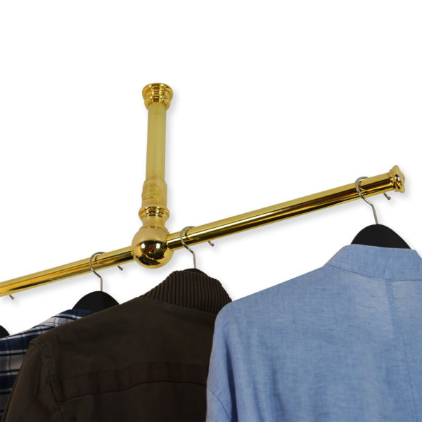The Carlisle - Ceiling Mounted Clothes Rail