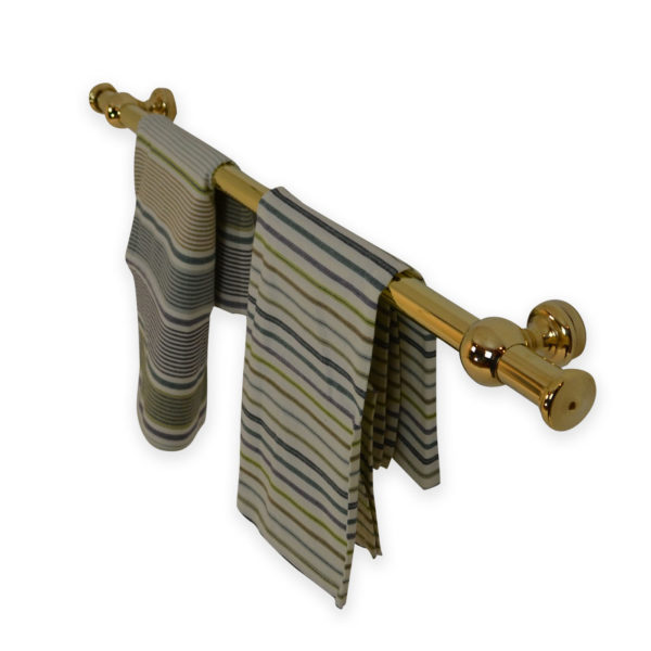 Kitchen Range Bathroom Towel Brass Rail