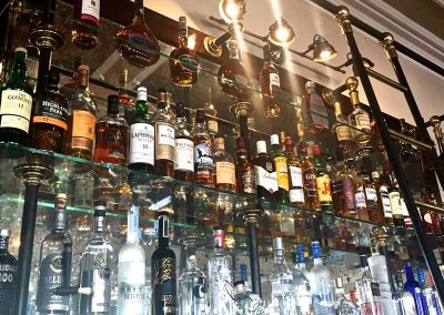 Hotel Bar-backs and Display Features
