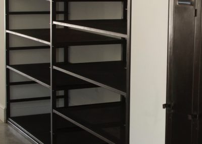 Bespoke industrial style shelving unit