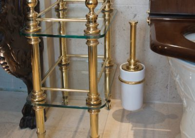 Bespoke period style bathroom accessories