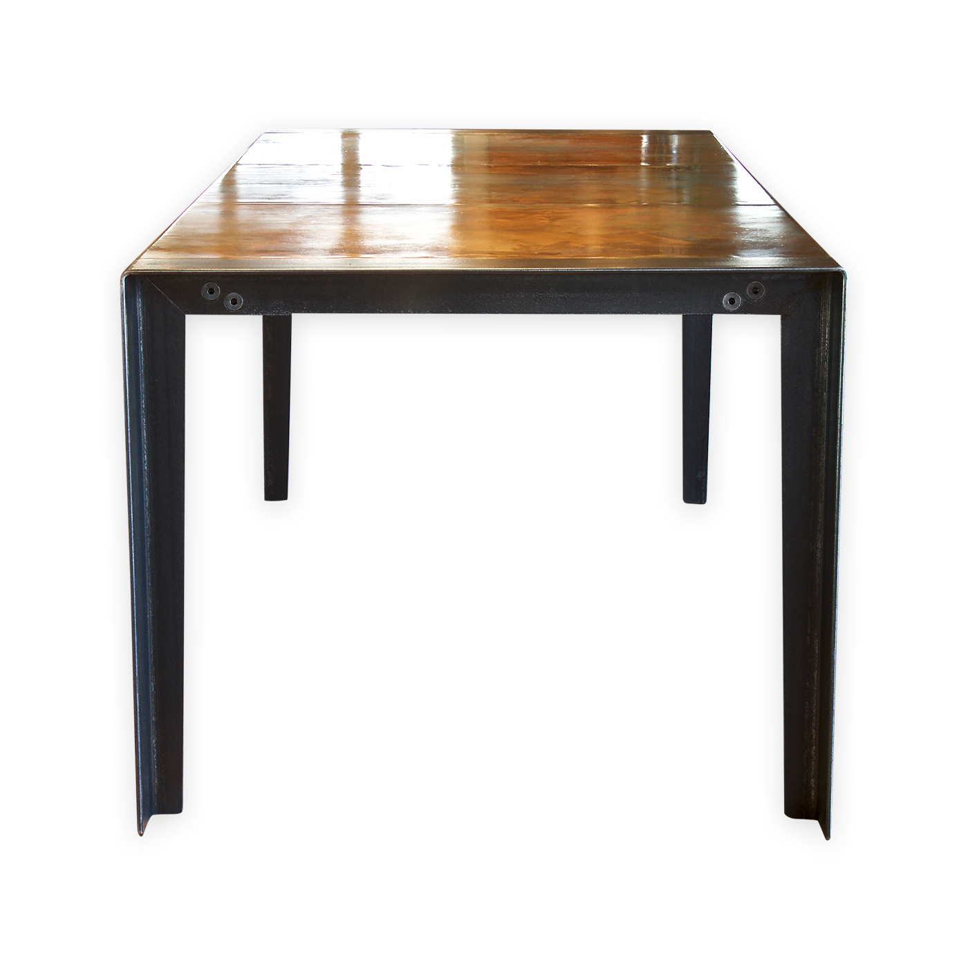 Copper Dining Room Table: Contemporary Copper Table