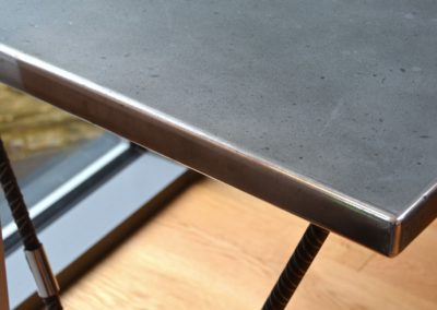 Andrew Nebbett Designs Zinc Top Desk
