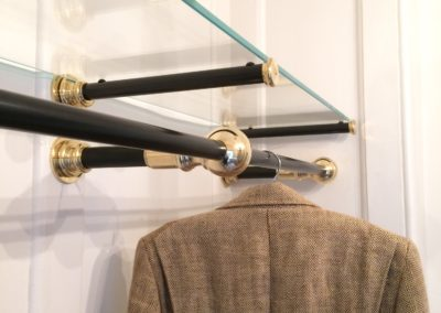 AND bespoke clothes rail solution