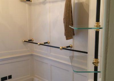 AND bespoke dressing room