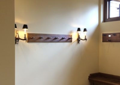 Andrew Nebbett Designs bespoke made gun rack
