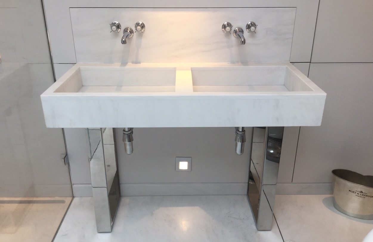 Bespoke Bathroom Washstands Pedestals Furniture Andrew Nebbett