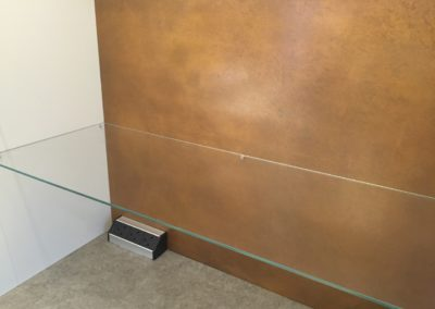 AND metal wall cladding decorative copper splashback