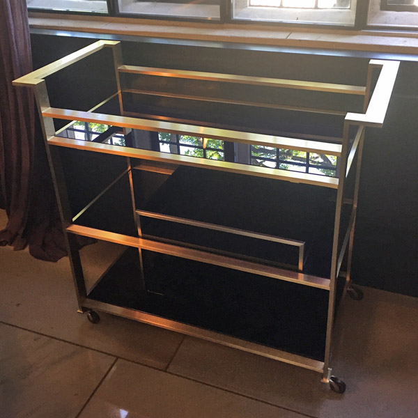 Kitchen Trolley Interior: Custom Made Serving & Display Trolleys