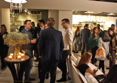Christopher Peacock Opening Party and Celebrations at Chelsea Habour London Showroom