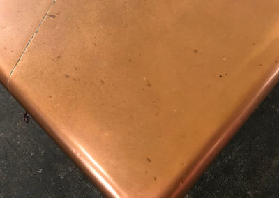 Hademade Copper Kitchen Island Worktop