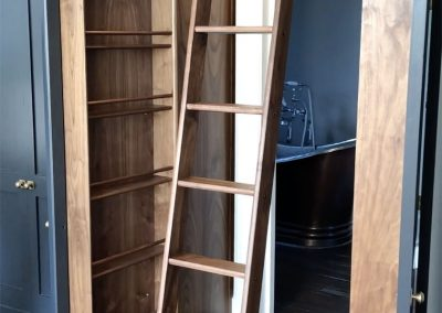 Collapsible Dressing Room Ladder solution by Andrew Nebbett Designs copy